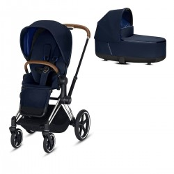 Cybex Priam 2.0 2w1 Chrome/Brąz Indigo Blue