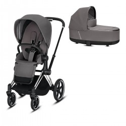 Cybex Priam 2.0 2w1 Chrome/Black Manhattan Grey