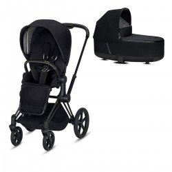 Cybex Priam 2.0 2w1 Matt/Black Premium Black