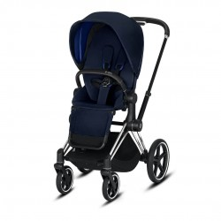 Cybex Priam 2.0 Chrome/Black Indigo Blue