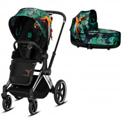 Cybex Priam 2.0 2w1 Chrome/Black Birds Of Paradise