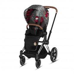 Cybex Priam 2.0 Spacerówka Rebellious Chrome/Brown