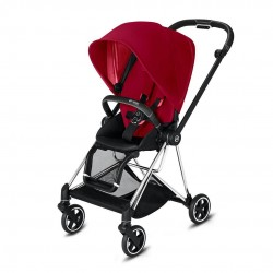 Cybex Mios Spacerówka True Red chrome/black
