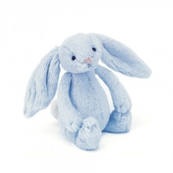 Króliczek Bashful Blue Bunny Rattle