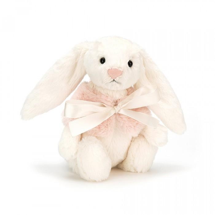 Króliczek Bashful Cream Snow Bunny