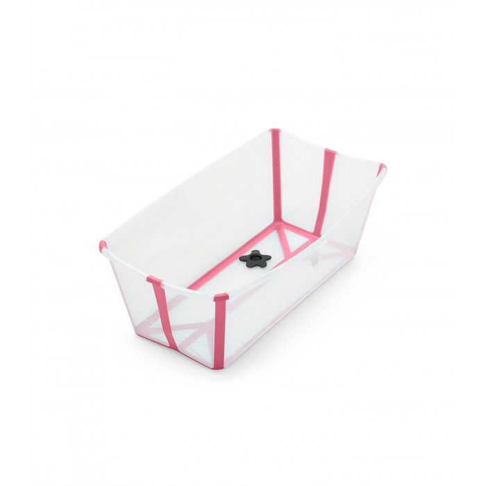 Flexi Bath Transparent Pink STOKKE