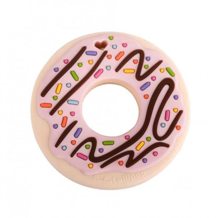 Gryzak silikonowy Donut Pink