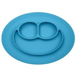 EZPZ Silikonowy Talerzyk Mini Mat niebieski