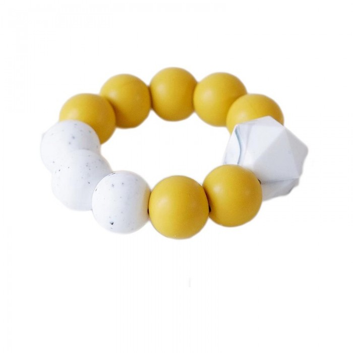 Blossom and Bear Gryzak Ring Yellow