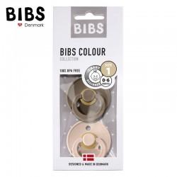 Smoczek BIBS Blush & Dark Oak S, M 2 Pack