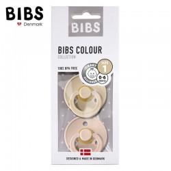 Smoczek BIBS Blush & Vanilla Oak S, M 2 Pack