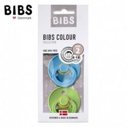 Smoczek BIBS Clear Water & Pear M 2 Pack