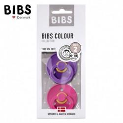 Smoczek BIBS Purple & Raspberry M 2 Pack