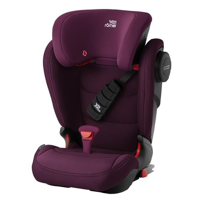 Romer Kidfix III S burgundy red