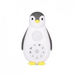 Zazu ZOE Usypianka Bluetooth Pingwin Grey