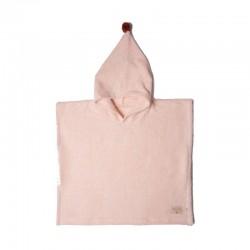 Poncho kąpielowe So Cute pink Nobodinoz