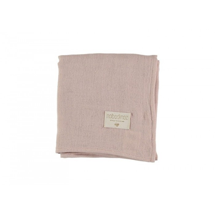 Pieluszka 70x70 Baby love bloom pink Nobodinoz