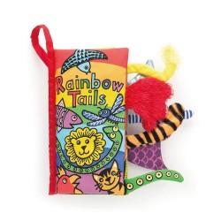 Książeczka Rainbow Tails Jellycat