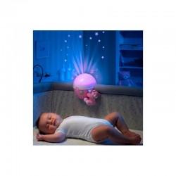 Chicco Projektor Na Łóżeczko Next2Stars pink