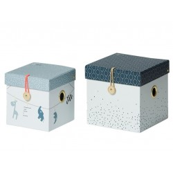 2 pudełka Dots Done by Deer Blue