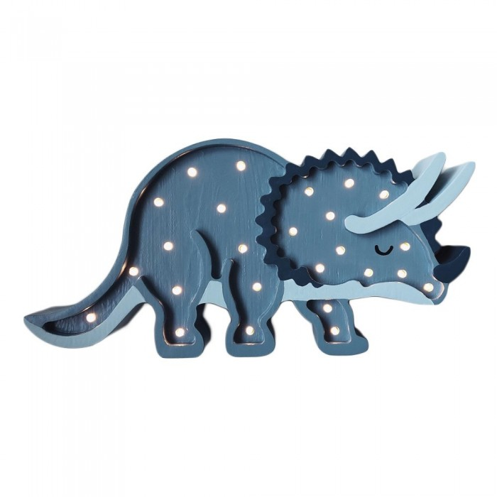 Lampa Little Lights Dino Triceratops