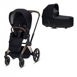 Cybex Priam 2.0 2w1 Rose Gold Premium Black