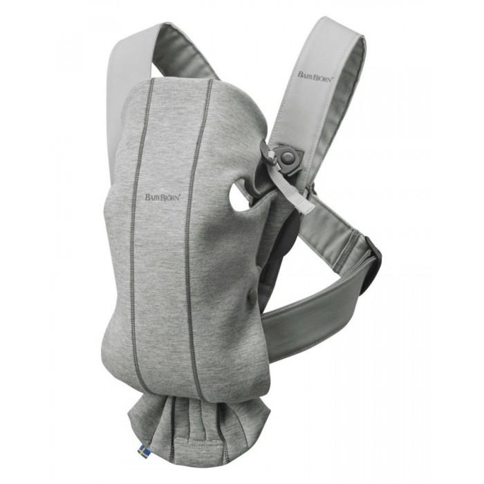 BABYBJORN Nosidło Mini 3D Jersey jasny szary