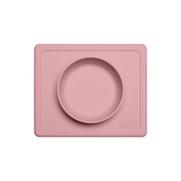 EZPZ Silikonowa Miseczka Mini Bowl pastelowy róż
