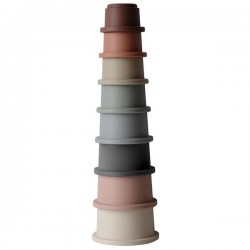 Mushie Wieża z kubeczków Stacking Tower