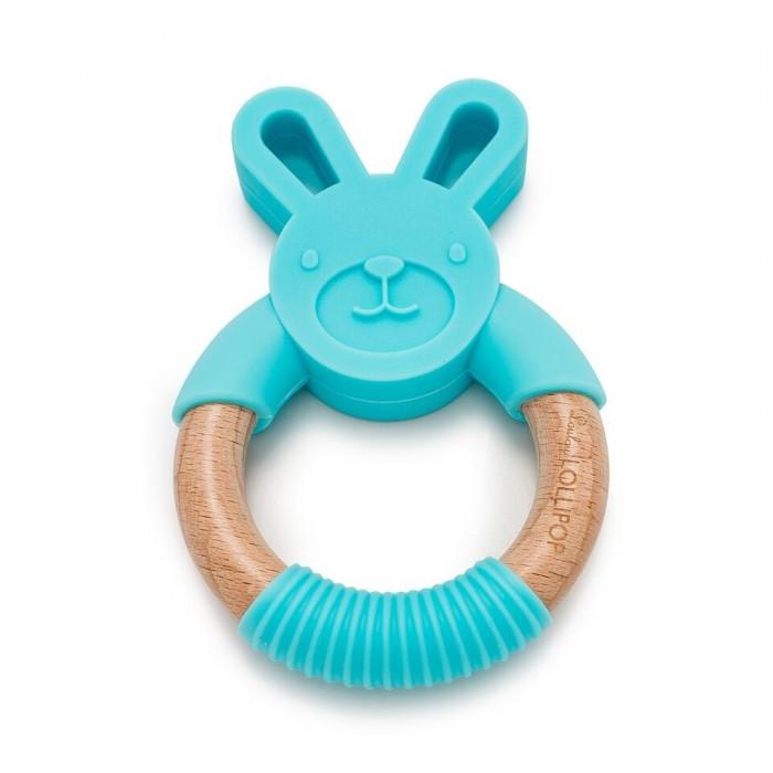 LouLou Lollipop Gryzak Króliczek Aqua