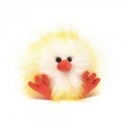 Crazy Chick Yellow & White