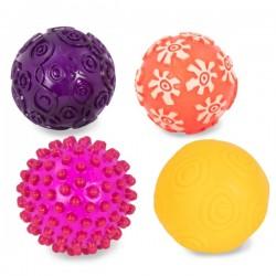 Zestaw 4 piłek sensorycznych Oddballs