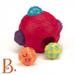Kula z piłkami- zestaw sensoryczny Ballyhoo