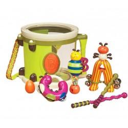 Bębenek Parum Pum Pum + instrumenty