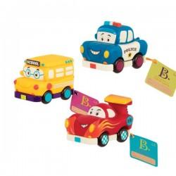 Zestaw 4 autek Wonder Wheels