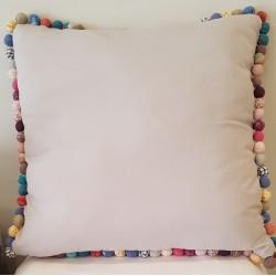 Poduszka Tiny Bubbles Szara 65cm