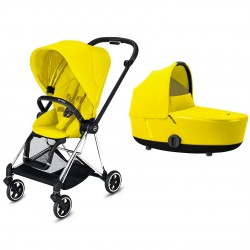 Cybex Mios 2020 2w1 Chrome/Black - Mustard Yellow