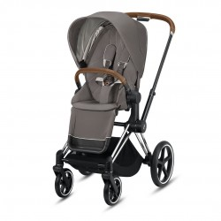 Cybex Priam 2020 Spacerówka Chrome/Brown - Soho grey