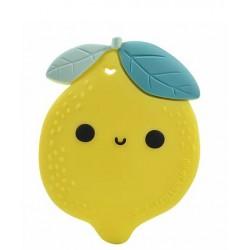 Lou Lou Lollipop Gryzak silikonowy Lemon