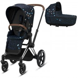 Cybex Priam 2.0 2w1 Jewels of Nature - Chrome Brown
