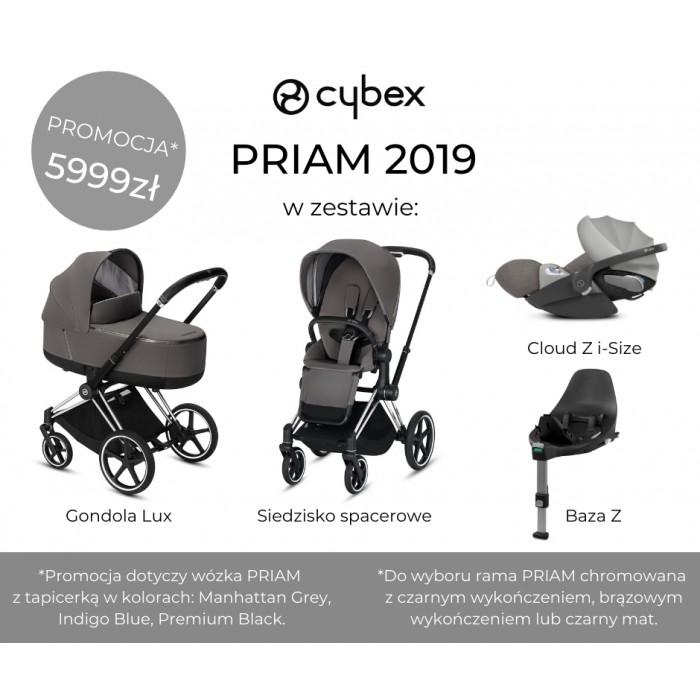 Cybex Priam 2.0 2w1 Rose Gold Manhattan grey