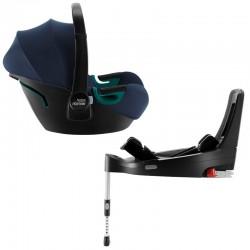 Britax Baby-Safe 3 i-Size zestaw z bazą indigo blue