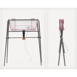 Flexi Bath Transparent Pink STOKKE