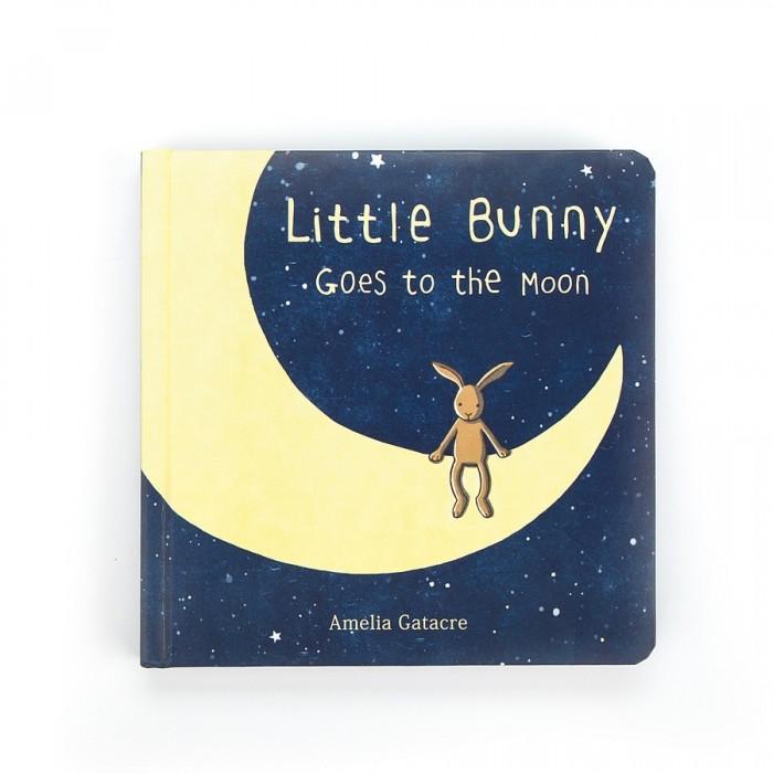 Książeczka Little Bunny Goes to the Moon