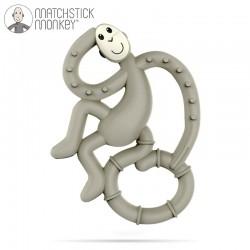 Matchstick Monkey Gryzak masujący Mini grey