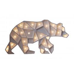 Lampa Little Lights niedźwiedź geometryczny