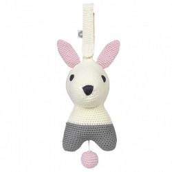 Franck Fischer Muzyczna zabawka Hella biały królik