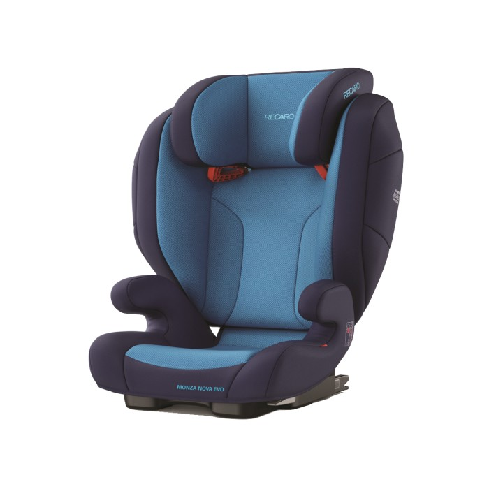 Recaro Monza Nova Evo Seatfix Core Xenon Blue