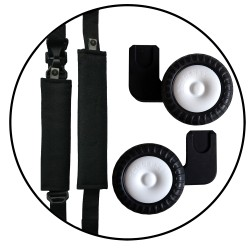 Adaptery Rollersy Click&Go Black