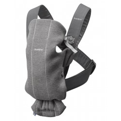 BABYBJORN Nosidło Mini 3D Jersey ciemny szary